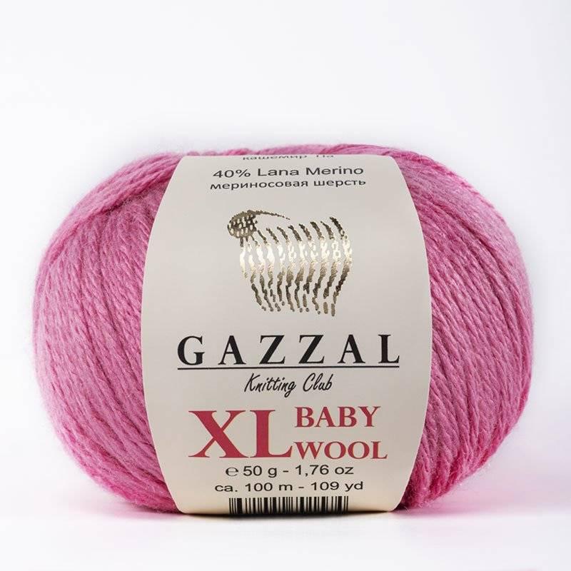 Пряжа Gazzal BABY WOOL XL / Пряжа / GAZZAL (Турция) / Интернет-магазин пряжи SAVNA.RU